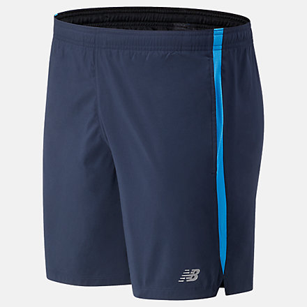 New Balance Accelerate 7 inch Short, MS93189HLU image number null