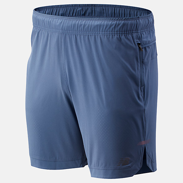 New Balance Q Speed Run Crew Short, MS93253CMY