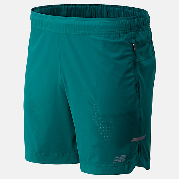 New Balance Q Speed Run Crew Short, MS93253MG2