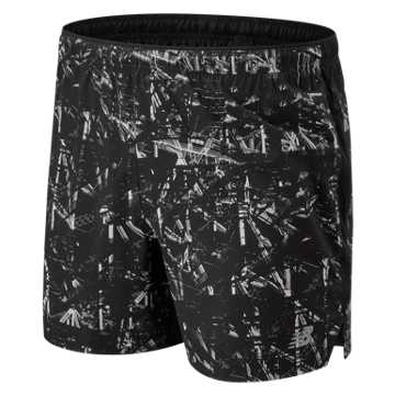 New Balance NYC Marathon P Impact 5 In Impact Shorts, Black Multi