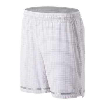 New Balance Tournament Tattersall 7 In Short, White
