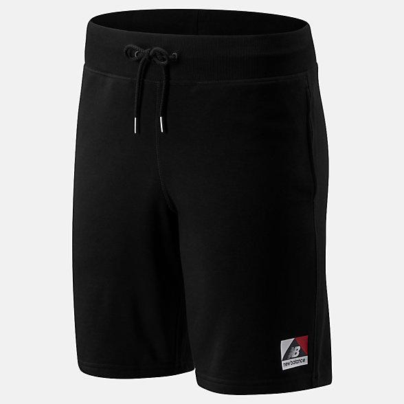 NB NB Athletics Archive Shorts, MS93501BK