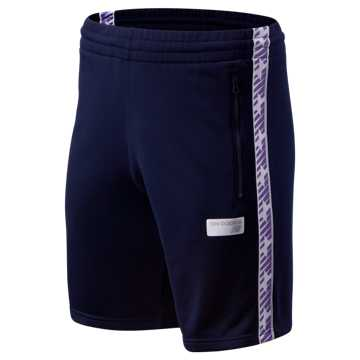 New Balance NB Athletics Classic Track Short, Pigment with Prism Purple