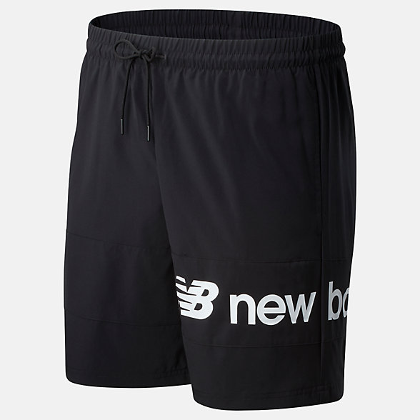 New Balance NB Athletics Woven Short, MS93512BK