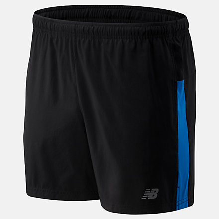 New Balance Core 5 inch Short, MS93913LBE image number null