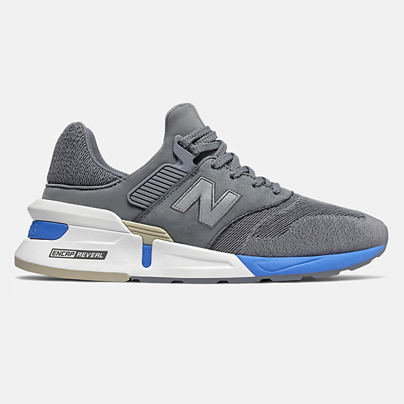 New Balance 997S男女同款复古休闲运动鞋, MS997FHA