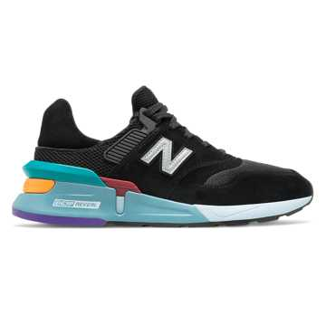New Balance 997 Sport, Black with Amazonite