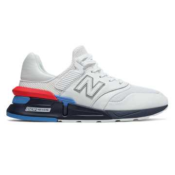 New Balance 997S男女同款复古休闲运动鞋, 白色