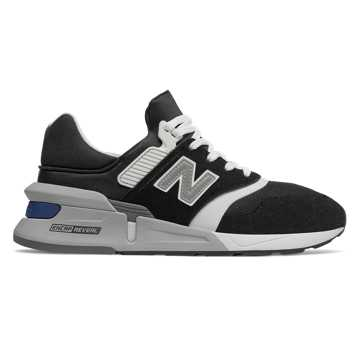 New Balance 997 Sport, Black with White
