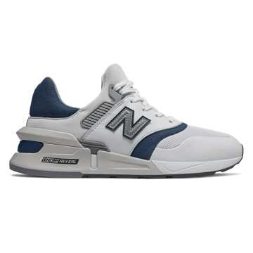 New Balance 997 Sport, White with Moroccan Tile