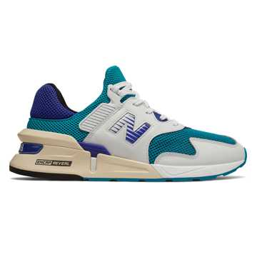 New Balance 997 Sport, Deep Ozone Blue with UV Blue