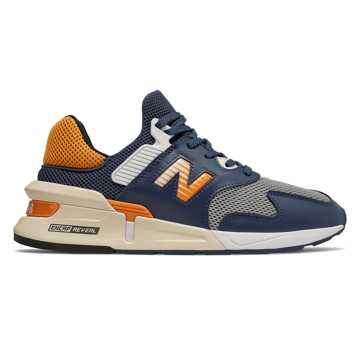 New Balance 997 Sport, Moroccan Tile with Bright Marigold