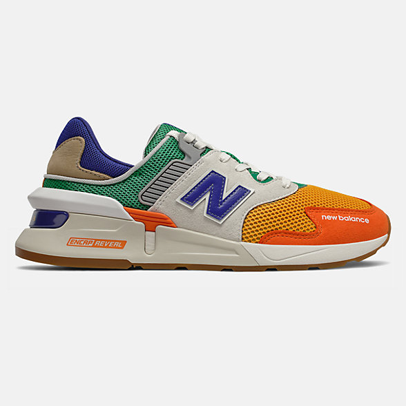 New Balance 997S系列男女同款复古休闲鞋, MS997JHX