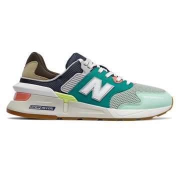 New Balance 997 Sport, Team Teal with Neo Mint