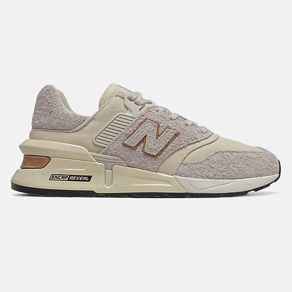 New Balance 997S系列男女同款复古休闲鞋, MS997LOG