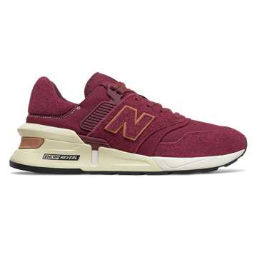 New Balance 997 Sport, Classic Burgundy with NB Burgundy