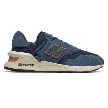 New Balance 997S系列男女同款复古休闲鞋, 藏青色
