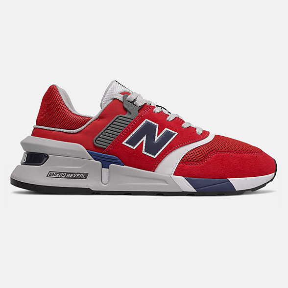 New Balance 997S系列男女同款复古休闲鞋, MS997LOR