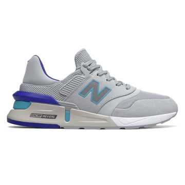 New Balance 997 Sport, Light Aluminum with Bayside