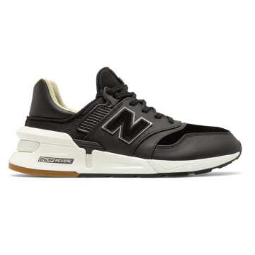 New Balance 997 Sport, Black with Sea Salt