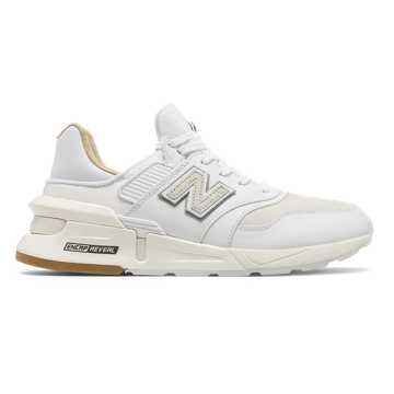 New Balance 997 Sport, White with Sea Salt