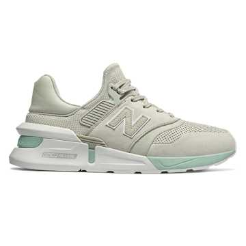 New Balance 997 Sport, Sea Salt with White Agave