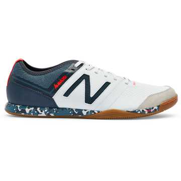 New Balance Audazo v3 Pro IN, White with Light Petrol