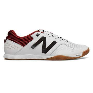 New Balance Audazo 2.0 Pro IN, White with Black & Burgundy