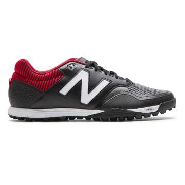 New Balance Audazo 2.0 Pro TF, Black with Burgundy & Silver