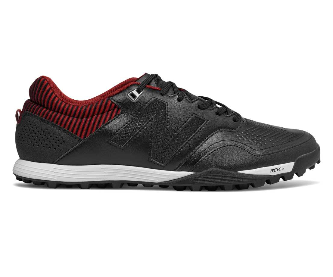 NB Audazo 2.0 Pro TF, Black with Burgundy & Silver