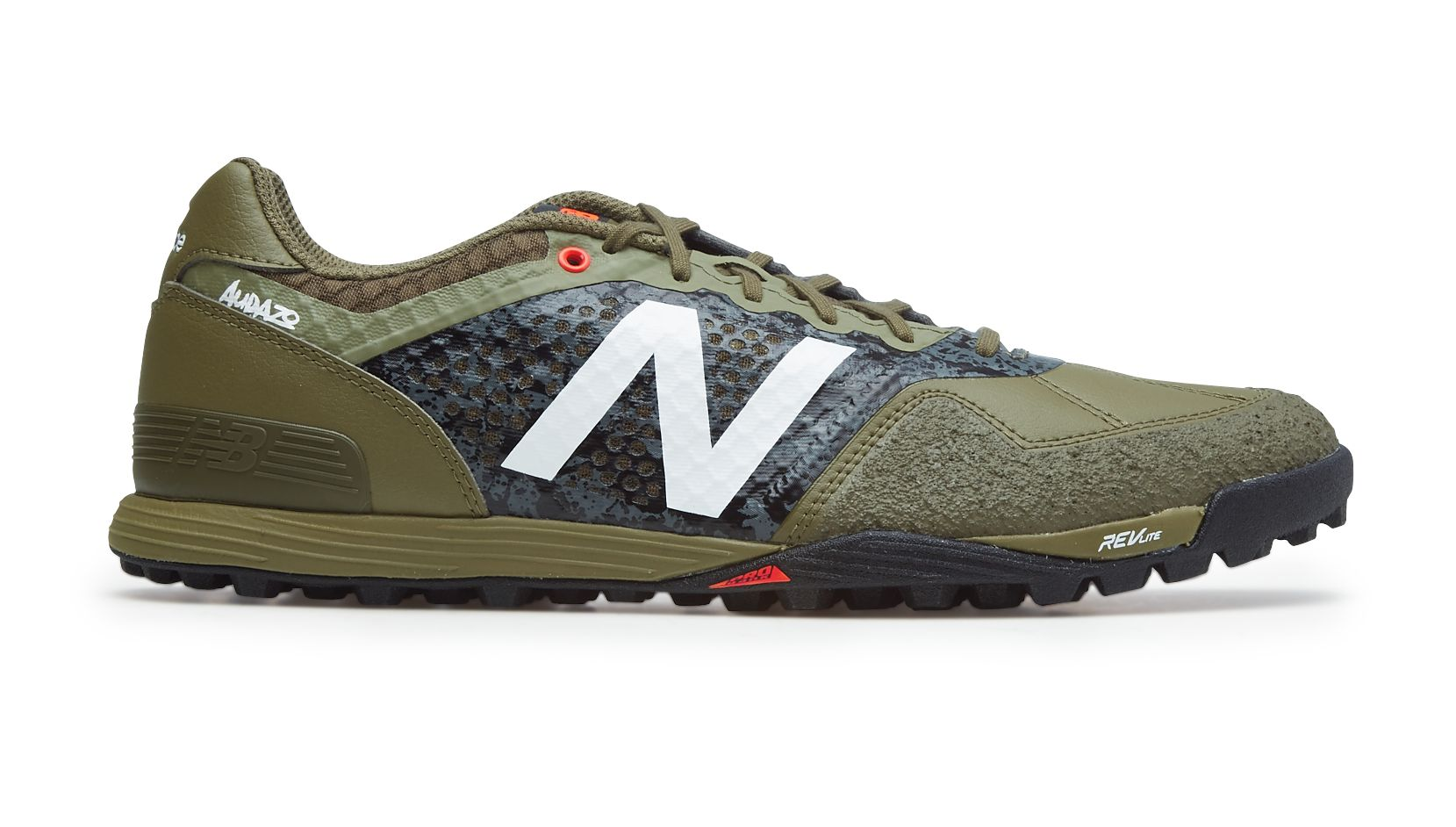 New Balance Audazo Pro TF, Triumph Green with Covert Green