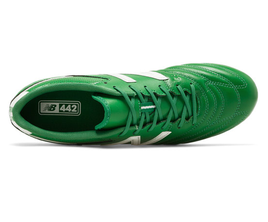54209e35af6a0 New Balance 442 1.0 Team FG Wear Your Colours, Green with White
