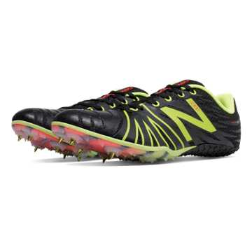 New Balance SD100 Spike, Black with Yellow