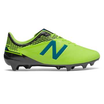 New Balance Furon 3.0 Dispatch FG, Hi-Lite with Maldives Blue & Black