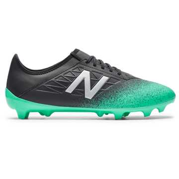 New Balance Furon v5 Dispatch FG, Neon Emerald with Black & Silver