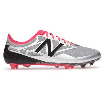 New Balance Furon Flare Limited Edition, Silver with Alpha Pink & Black