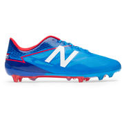 New Balance Furon 3.0 Mid FG, Bolt with Team Royal & Energy Red