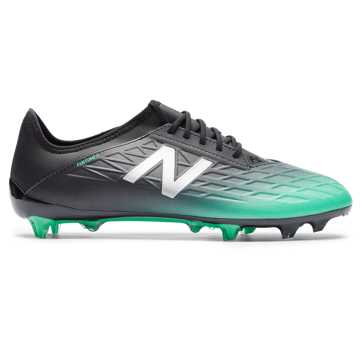 3aee65d89 New Balance Furon v5 Destroy FG, Neon Emerald with Black & Silver