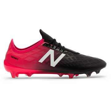 New Balance Furon 4.0 Pro FG, Bright Cherry with Black & White