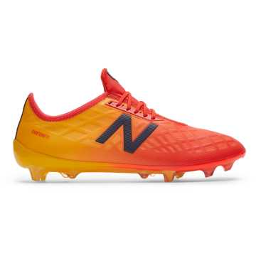 New Balance Furon v4 Pro FG, Flame with Aztec Gold