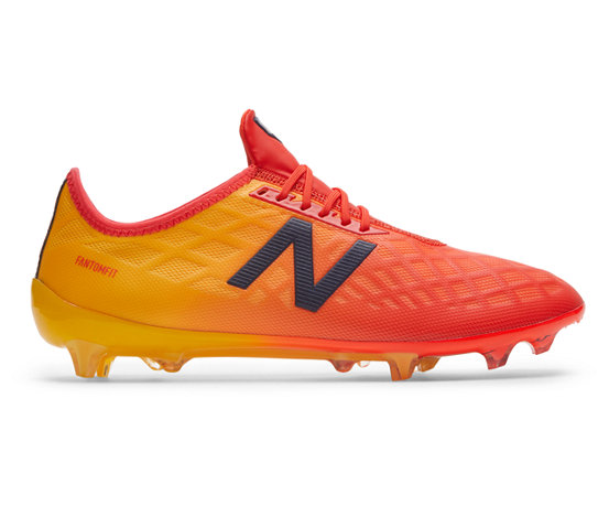 22eab57465d5 New Balance Furon v4 Pro FG, Flame with Aztec Gold