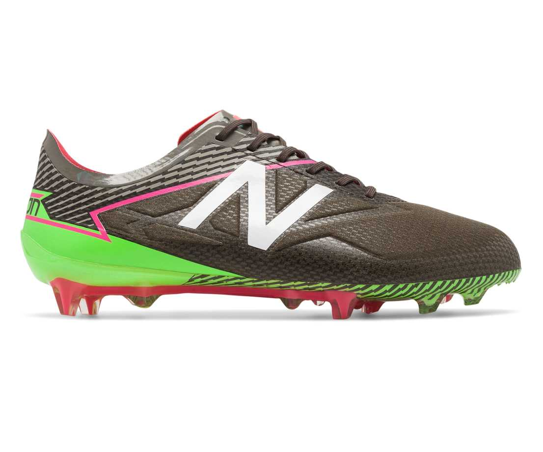 NB Furon 3.0 Pro FG, Military Dark Triumph with Alpha Pink & Energy Lime