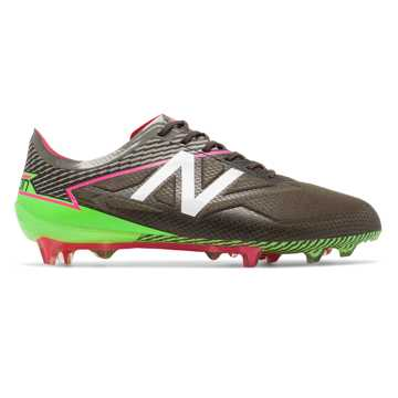 New Balance Furon 3.0 Pro FG, Military Dark Triumph with Alpha Pink & Energy Lime