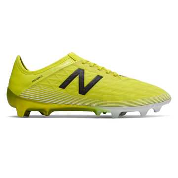 New Balance Furon v5 Pro FG, Sulphur with Phantom & White