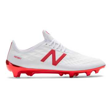 New Balance Furon 4.0 Pro FG, White with Flame
