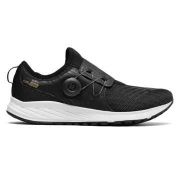 New Balance FuelCore Sonic, Black with Gold & Thunder