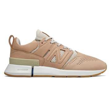 New Balance R_C1系列限量款男女同款休閑鞋 簡約低調 休閑搭配, 奶茶色