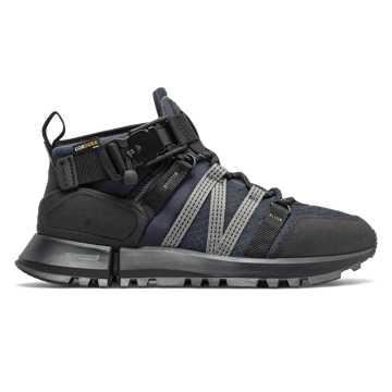 New Balance New Balance x Snow Peak联名限量版R_C4系列男款户外休闲运动鞋, 藏青色/黑色