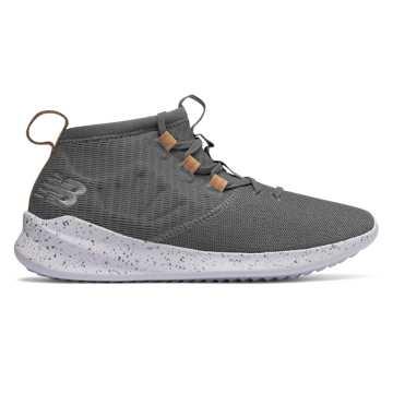New Balance Cypher Run Knit, Castlerock with Vegan Tan Leather