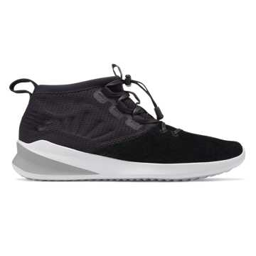 New Balance Cypher Run Luxe, Black with White